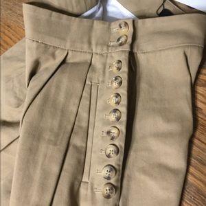 Zara Pants - Zara Women's High-Waisted Wide-Leg Trousers. NWT.